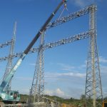 Construction of Similajau 275kV Substation Capacitor Bank