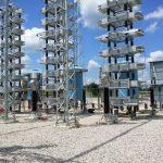 Construction of Similajau 275kV Substation Capacitor Bank