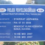 Construction of Apex Sarawak Clinic